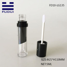5ml UV Black Empty Lipgloss Container Lip Shape