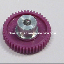 Precision Metal Hub Mold Injection Plastic Polymer Pinion Spur Gear