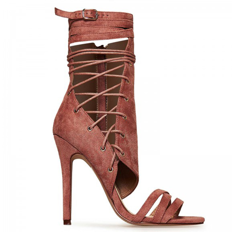 hot sale newest women color sandals booties