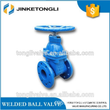CI 300lb tidak meningkat batang sluice valve stainless steel stem manual operation