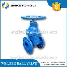 CI 300lb non-rising stem sluice valve stainless steel stem manual operation