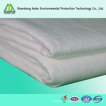 Reliable quality needle punched wadding bamboo fiber felt / batting