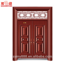 One and half door leaf steel armor door