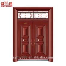 As portas da janela projetam as portas de aço da segurança da grade da porta principal de aço inoxidável