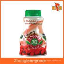 Venta al por mayor de la fábrica de guangzhou shrink decorativo de encargo de la fábrica para la botella de la bebida