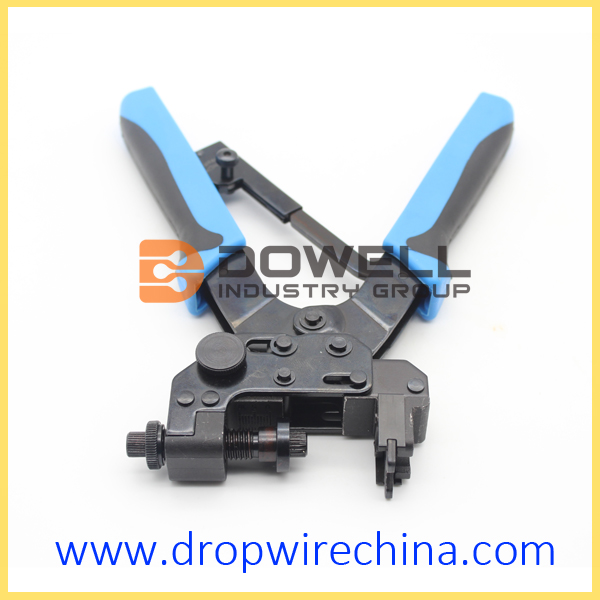 Coaxial On BNC RCA Connectors Compression Crimping Tool