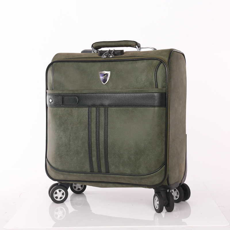 Portable Suitcase PU luggage