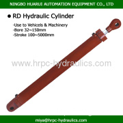 Round Type Double Acting Hydraulic Oil Cylinders For Machiney And Vehicle?