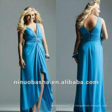 Stretch Jersey com strass Detalhes Evening Dress 2012