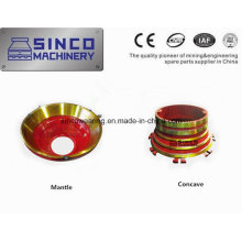 OEM Manufacture Crusher Parts Concave and Mantle