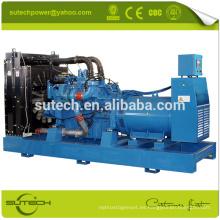 Generador diesel 900KVA / 720KW MTU con motor original de Alemania 16V2000G25 MTU