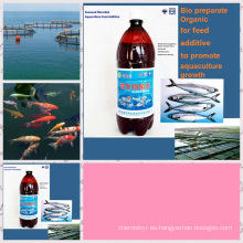 Aditivo para piensos de algas utilizado para la acuicultura