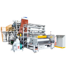 Linha de maquinário de filme extensível LLDPE de 1500 mm Big Roll