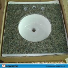 Cheap Polished Granite Bathroom Vanity Top