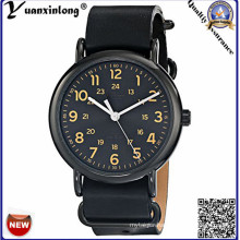 Yxl-144 Simple Design Fashion Watch Lady Casual Sport High Quality Leather Stainless Steel Case Ladies Wristwatch Vogue Watch Women
