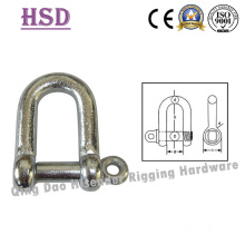 European Large Dee Shackle, Pin Screw