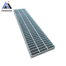 steel grating Metal Building Material Serrated Galvanized Steel Grating Outdoor Metal Drain Cover Grating