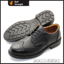 PU Outsole Official Work Shoe with Action Leather (SN5455)