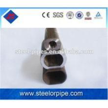 Tubos de acero de forma ovalada de alta precisión / tubo sin costura ovalado