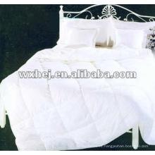 Juego de sábanas acolchado blanco 100% algodón