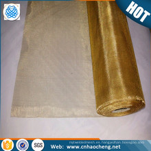 Pantalla de malla de latón de la jaula de Faraday malla de filtro de alambre de bronce de malla 200