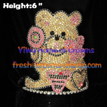 6inch Height Teddy Bear Cupcake Crowns