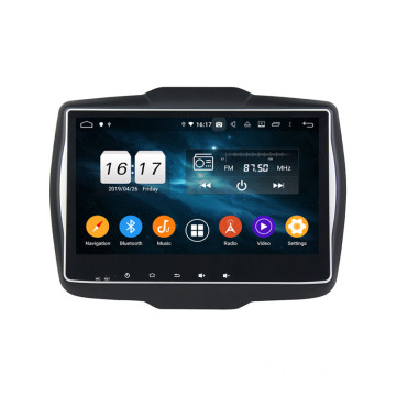 Klyde dsp android head unit voor Renegade 2016