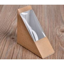 2016 Chinese Factory Hot Selling Kraft Paper Sandwich Packaging Box