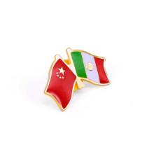 Combinación de insignias de banderas de Australia y Hong Kong (GZHY-LP-022)