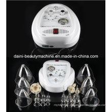 Aumente o realce do peito Máquina elétrica da massagem da terapia do vácuo da bomba da ampliação do peito com copos