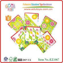 Kinder Spielzeug Wooden Flower Puzzle Spiel