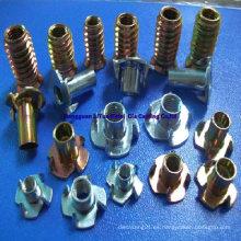 Tornillos y tuercas de aleación de aluminio