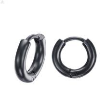 Joyería simple de alta calidad de los pendientes del metal negro indio de la alta calidad