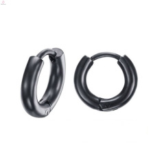 High Quality Indian Black Metal Small Simple Earrings Jewelry