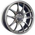 Silver custom styling aluminum alloy wheel rim 15 and 16 inc