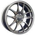 15 e 16 inc del cerchio ruota in lega di alluminio argento stile personalizzato