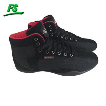 Los hombres de encargo que luchan los zapatos, hacen sus propios zapatos de lucha, zapatos de lucha baratos para la venta
