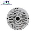 Customized Single-side Round Aluminum PCB 12v LED Light Circuit Board