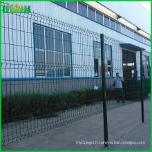 Prix d'usine bon marché et fin 6ft clôture métallique