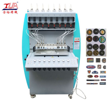 Patches de PVC Dripping Making Machine for Clothes