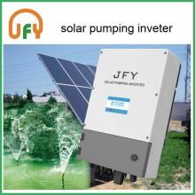 Solar irrigating system AC pump