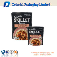 Aluminum Foil Cooking Retort Pouch For Meat Packaging