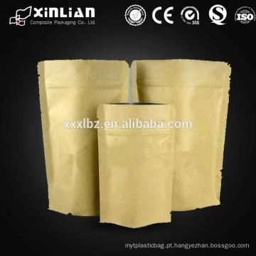 Saco de papel de alumínio / saco de alumínio com zíper