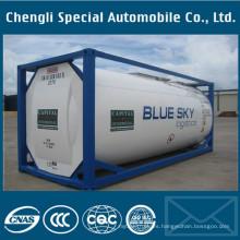 Tanque de almacenamiento de gas del contenedor ISO del cilindro LPG de 20 pies