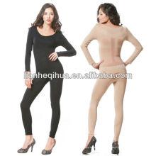 Underwear novo do estilo, johns longos sem emenda da senhora