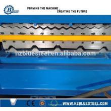 Rodillo de techo de doble capa que forma la máquina y el rodillo usado que forma la máquina y el rodillo doble del tejado de la cubierta que forma la máquina