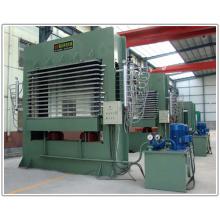 Máquina de imprensa automática de madeira compensada de folheado hidráulico