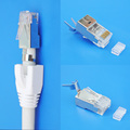 Cat 6A 8P8C Shielded Connector