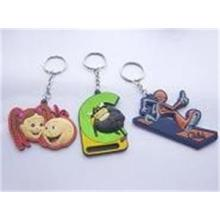 Pantone Color Custom Fashion PVC Keychains
