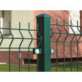 Galvanized and PVC Coated Mesh Fence (factory)